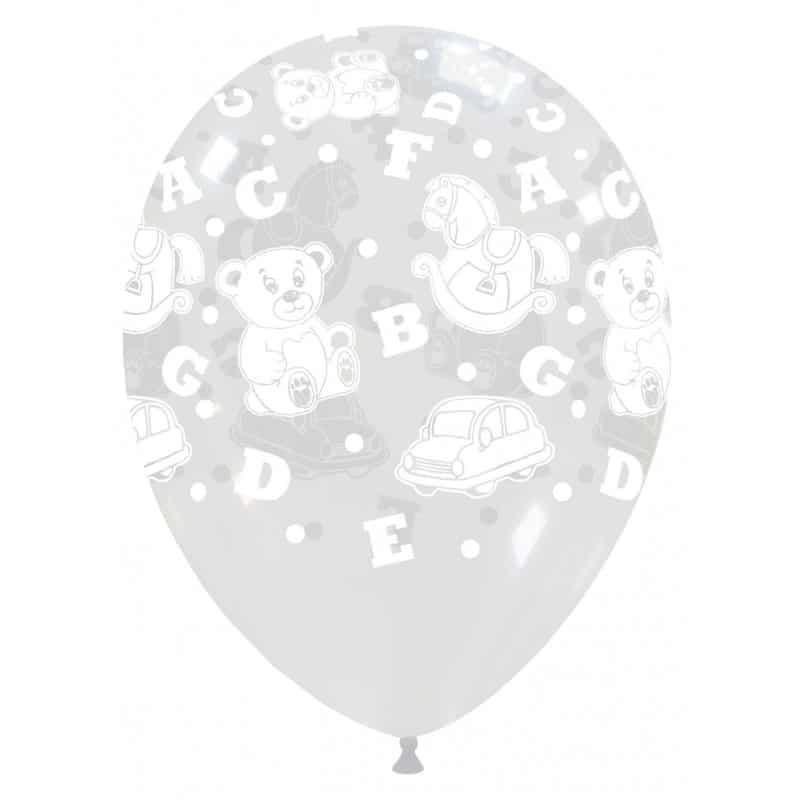 Palloncini nascita Giocattoli Grandi Trasparente (Edizione Limitata)