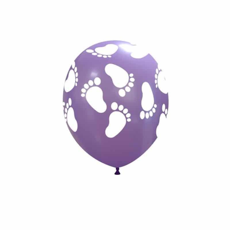 Palloncini nascita Piedini