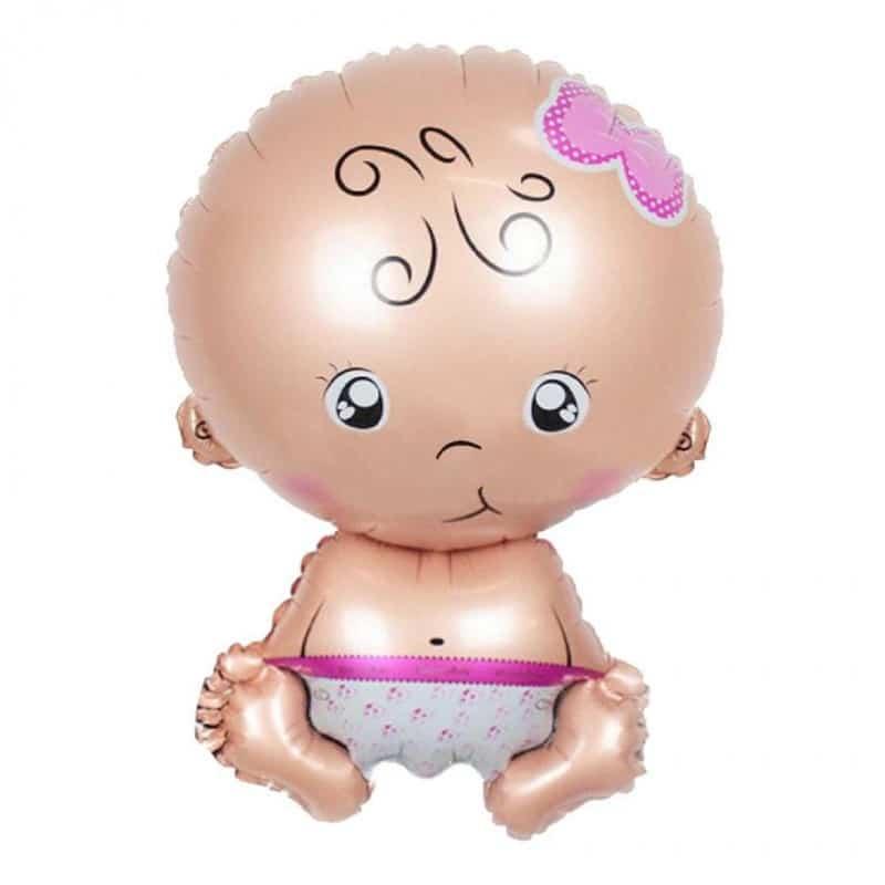 """Palloncini nascita Welcome Baby Bambina (24"""")"""