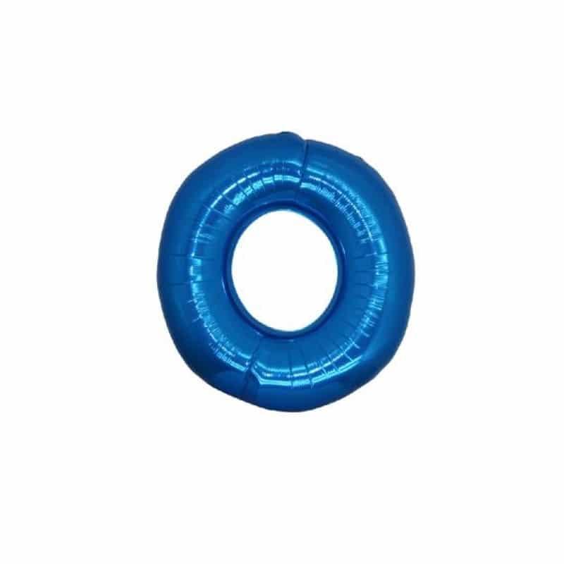 Palloncini numeri mylar piccoli -Numero 0