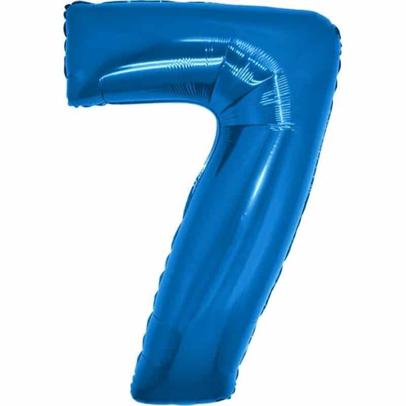 Palloncini numeri mylar grandi -Numero 7 Grandi