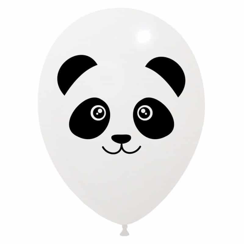 Palloncini facce - panda