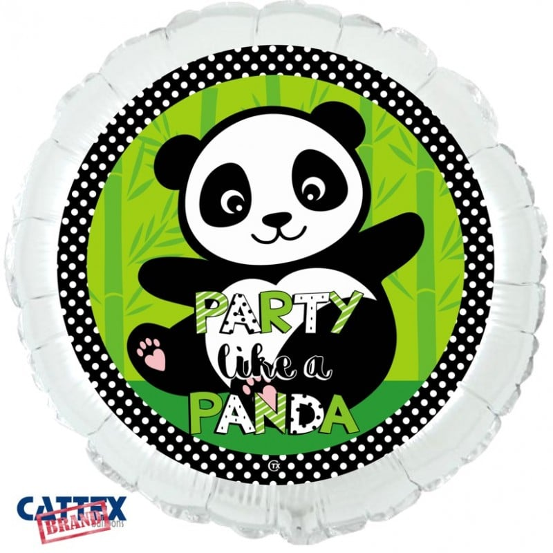 "Palloncini mylar vari Party Like a Panda (18"")"