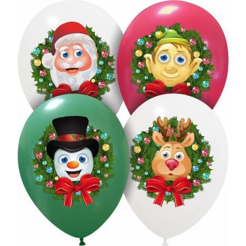 Palloncini natalizi - personaggi natalizi (cmyk)