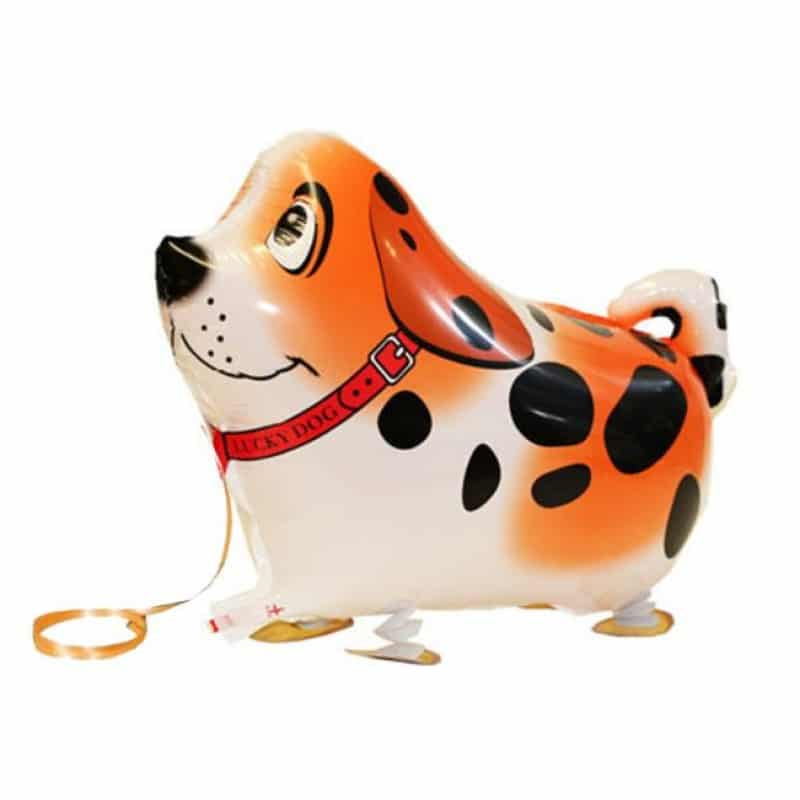 "Palloncini Pet Walker - Cane Maculato - Arancio (16"")"