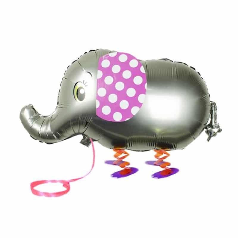 """Palloncini Pet Walker - Elefante Argento (18"""")"""