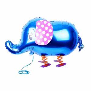 "Palloncini Pet Walker - Elefante Blu (18"")"