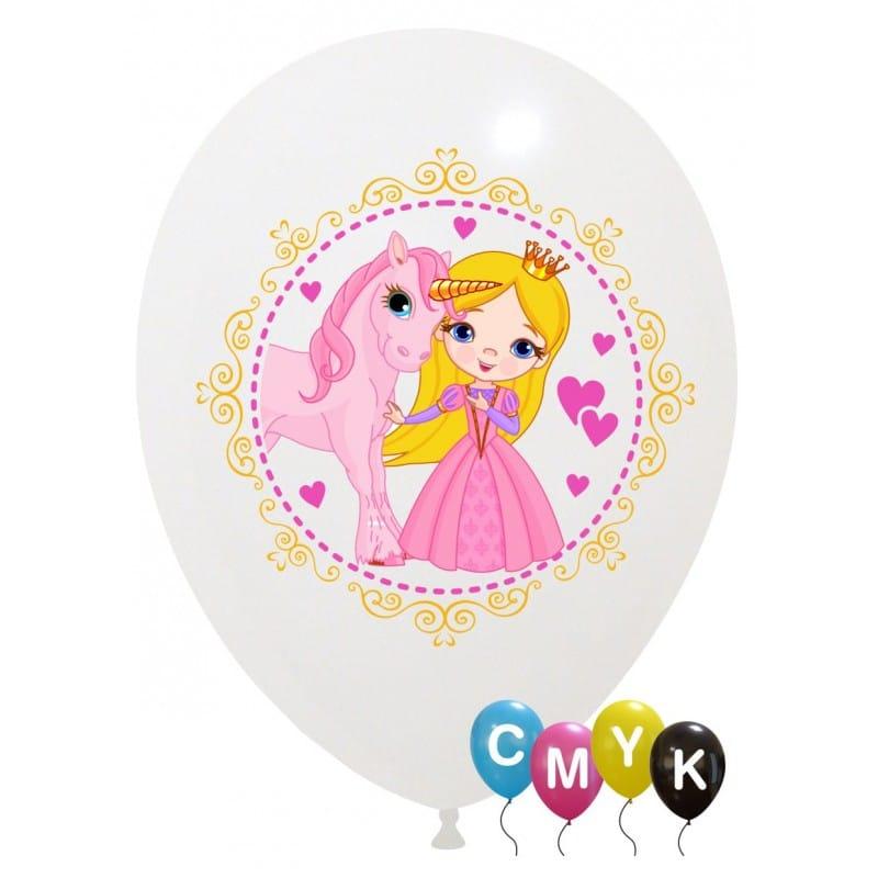 Palloncini varie - principessa - full color (cmyk)