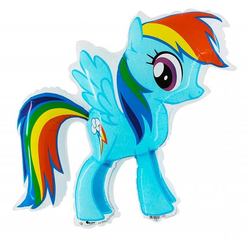 "Palloncini mylar Personaggi Rainbow Dash (31"")"