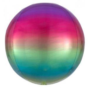 "Palloncini mylar animali Rainbow Orbz (16"")"