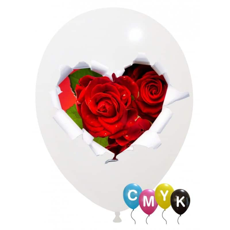 Palloncini amore - rose - full color (cmyk)