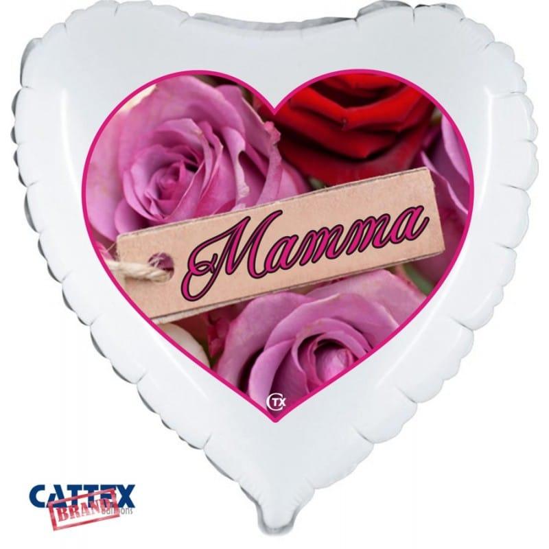 "Palloncini mylar vari Rose Mamma (18"")"