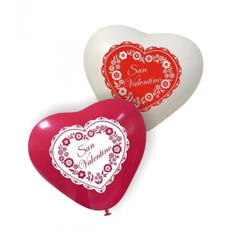 Palloncini amore - san valentino cuore
