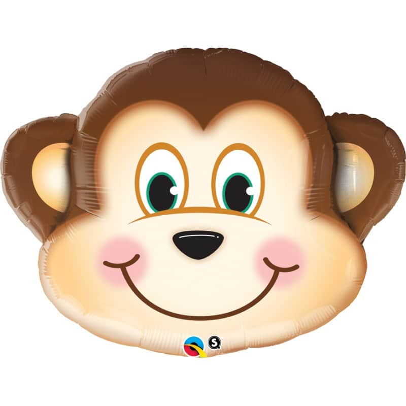 "Palloncini animali - scimmia supershape (35"")"