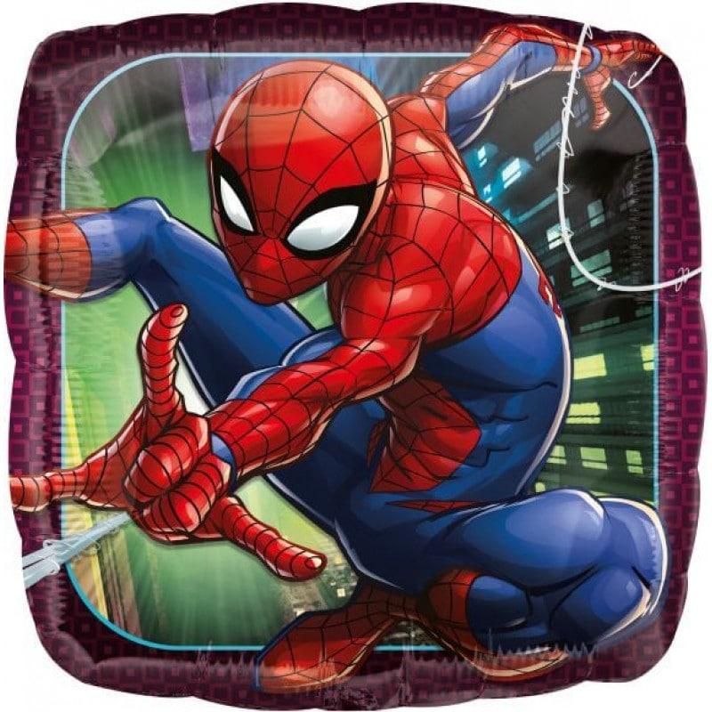 "Palloncini mylar Personaggi Spider-Man Animated (18"")"