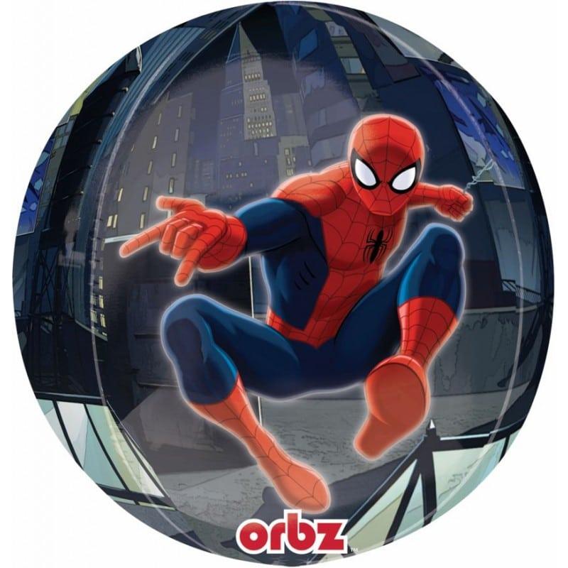 "Palloncini mylar Personaggi Spiderman - Orbz (16"")"