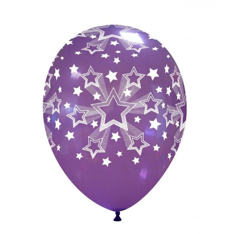 Palloncini stampa globo - stelle sfumate
