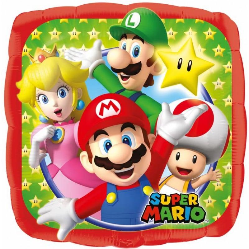 """Palloncini mylar Personaggi Super Mario (18"""")"""