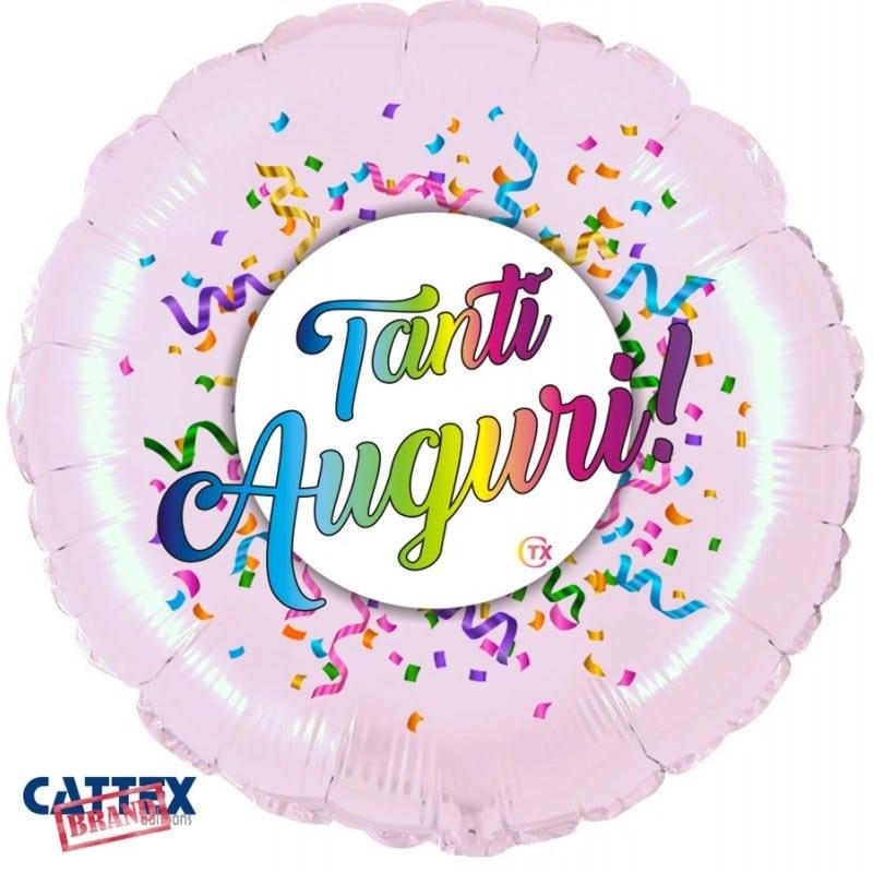 """Palloni Mylar Decorati Varie Mylar - Tanti Auguri! (18"""")"""