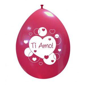 Palloncini amore - ti amo cuore!