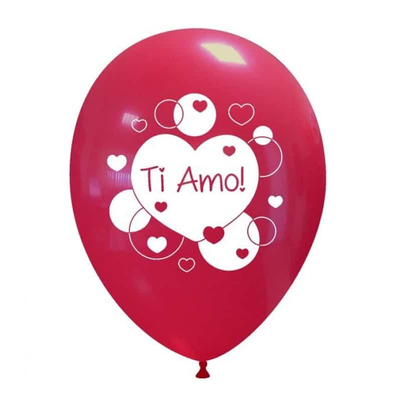 Palloncini amore - ti amo cuore