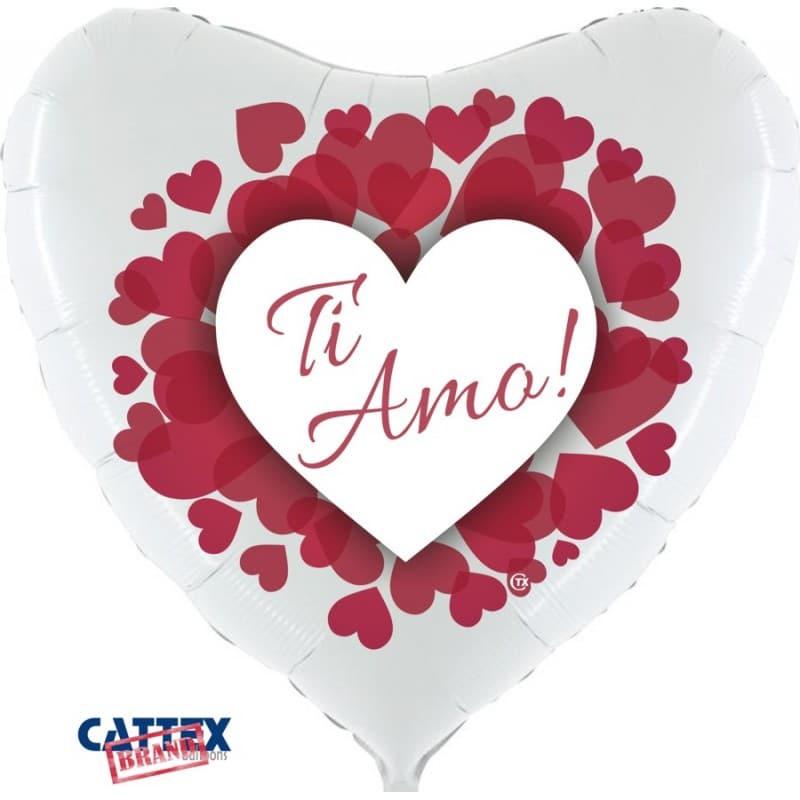 "Palloncini amore - ti amo cuoricini supershape (36"")"