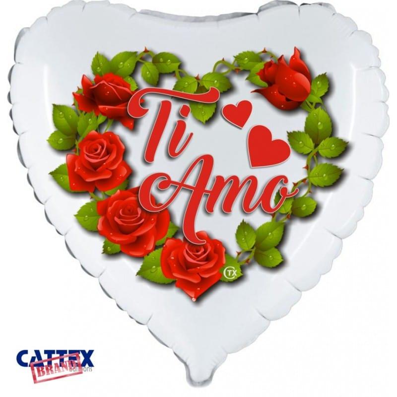 "Palloncini amore - ti amo rose (18"")"