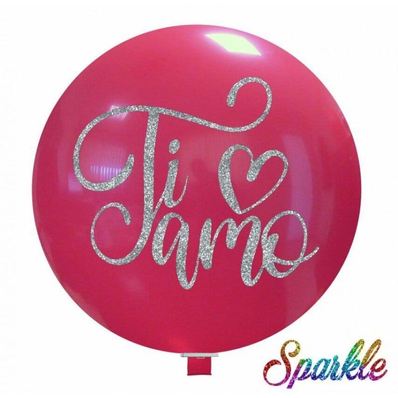 Palloncini amore - ti amo (sparkle)