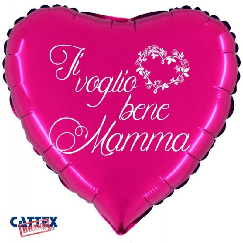 "Palloncini mylar vari Ti voglio bene Mamma (18"")"