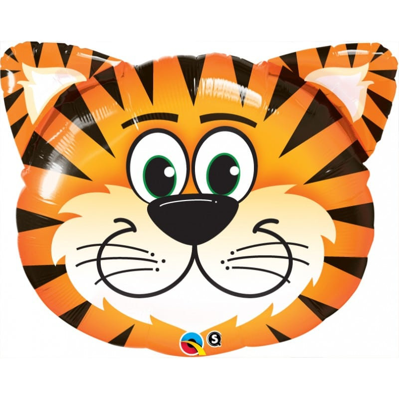 "Palloncini mylar animali Tigre (30"")"