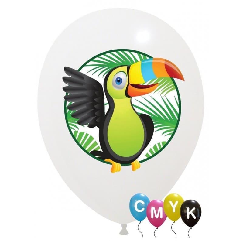 Palloncini varie - tucano - full color (cmyk)