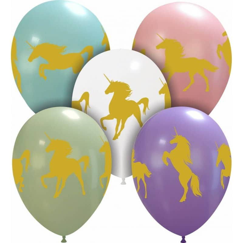 Palloncini stampa globo - unicorni