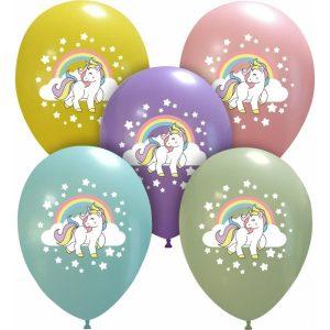 Palloncini varie - unicorno (7 colori)
