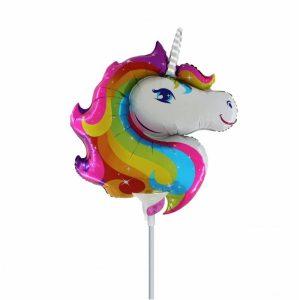 "Palloncini mylar animali Unicorno Supershape (15"")"
