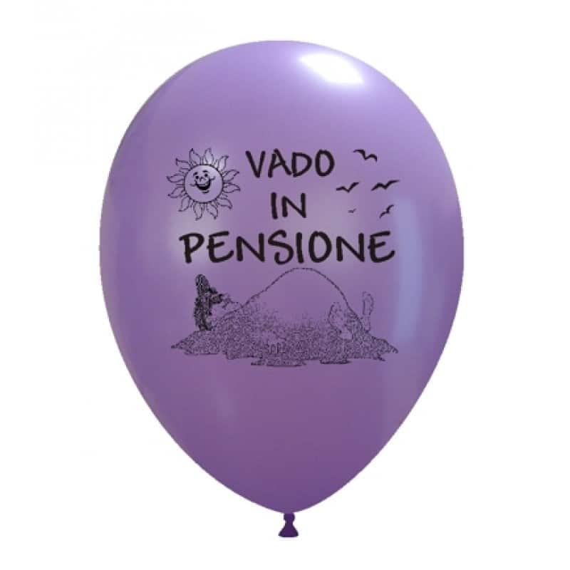 Palloncini varie - vado in pensione