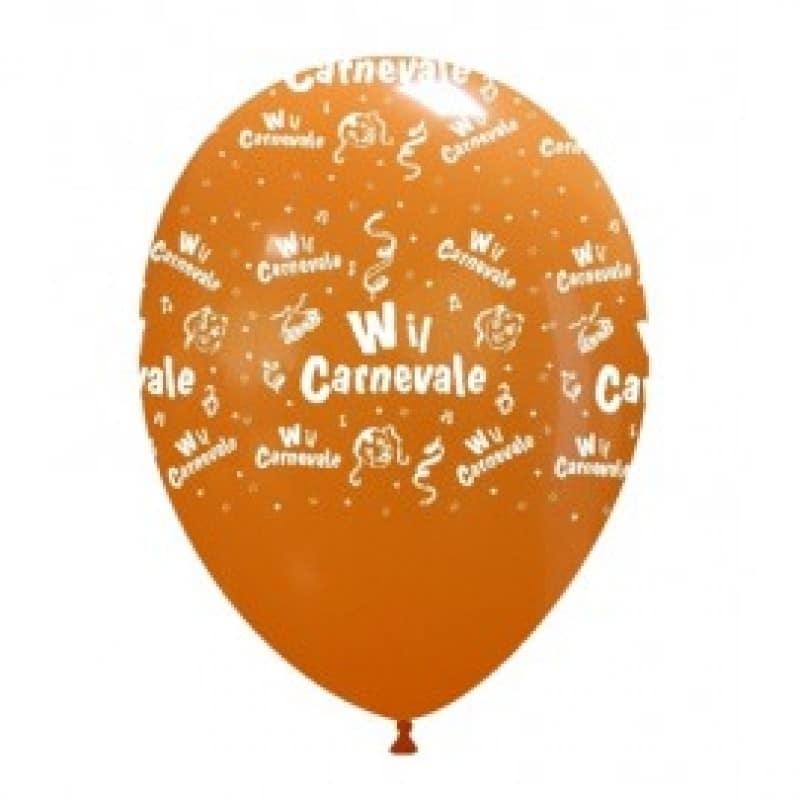 Palloncini stampa globo - viva il carnevale (globo)