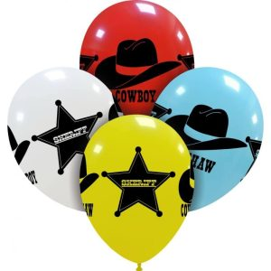 Palloncini stampa globo - wild west