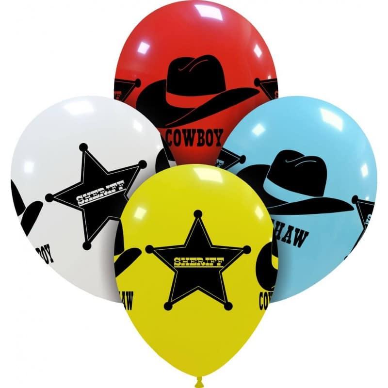 Palloncini stampa globo - wild west