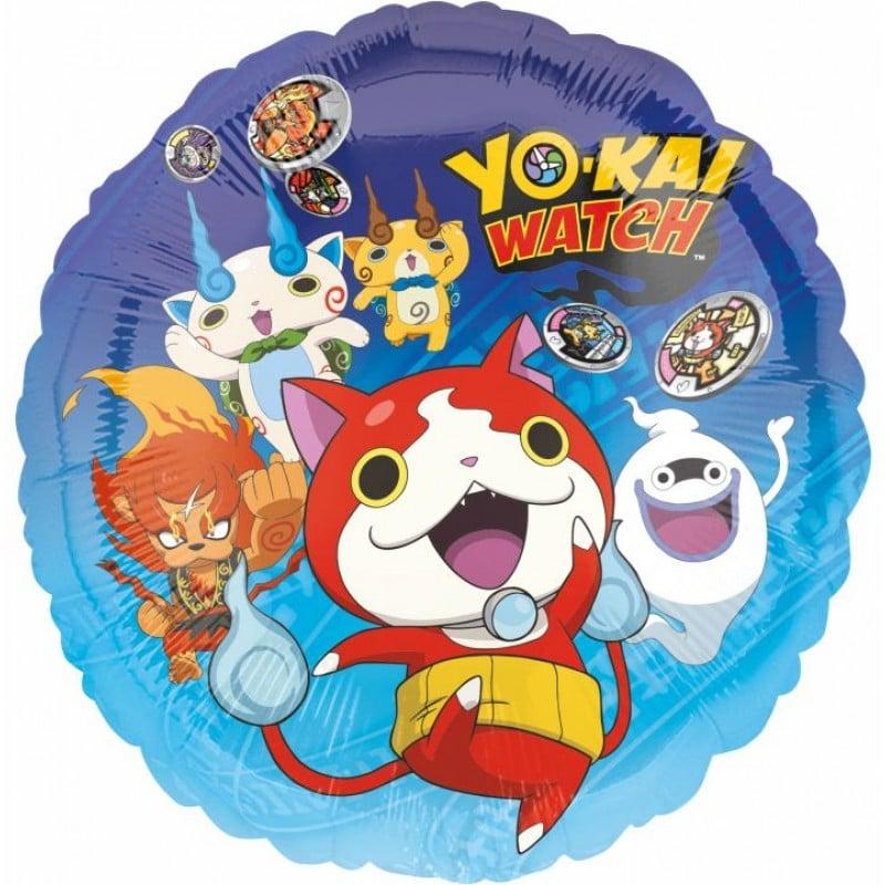"""Palloncini mylar Personaggi Yo-Kay Watch (18"""")"""