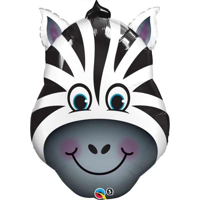 """Palloncini mylar animali Zebra (32"""")"""