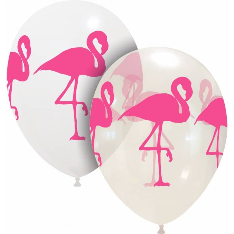 Palloncini fantasia flamingo