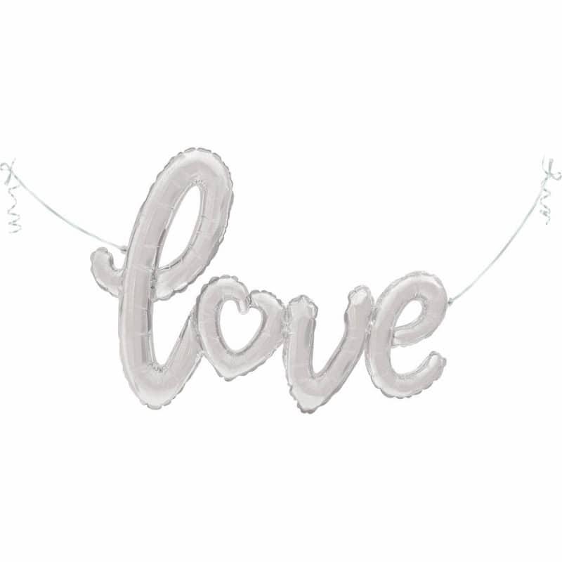 """Palloncini love Scritta Love (47"""")"""