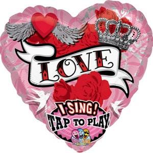 Crazy Love singing balloon