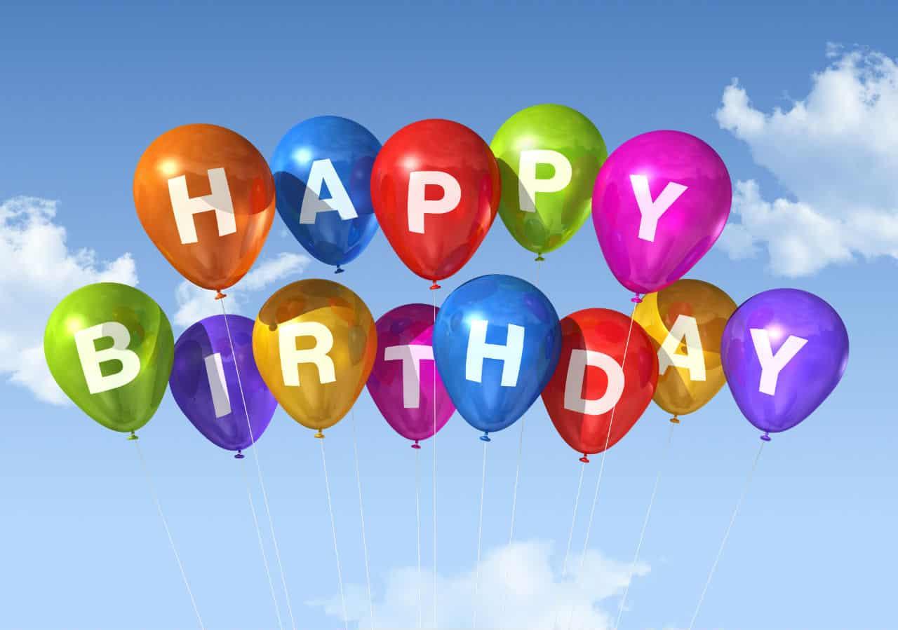 Palloncini compleanno per rallegrare una festa